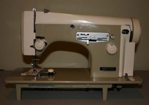 Necchi 523 sewing machine: no cabinet