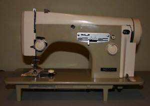 Necchi 523 sewing machine: no cabinet