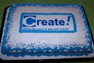 Open house cake